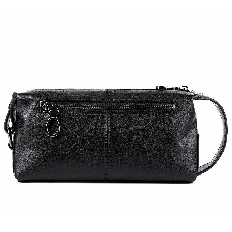 公事包休閒手包男士手拿包大容量時尚手拎包軟皮商務時尚辦公包手抓包 bw3296