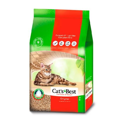 凱優CAT'S BEST 凝結木屑砂 紅標全規格 5L/10L/20L/30L/40L【單包】『WANG』