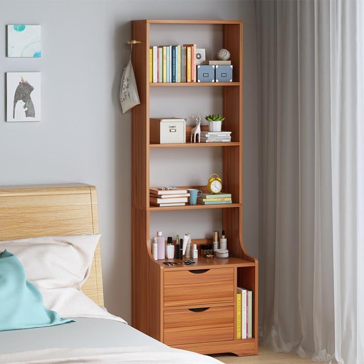 床頭櫃 置物架簡約現代臥室儲物柜小戶型多功能簡易收納床邊小柜子【免運】