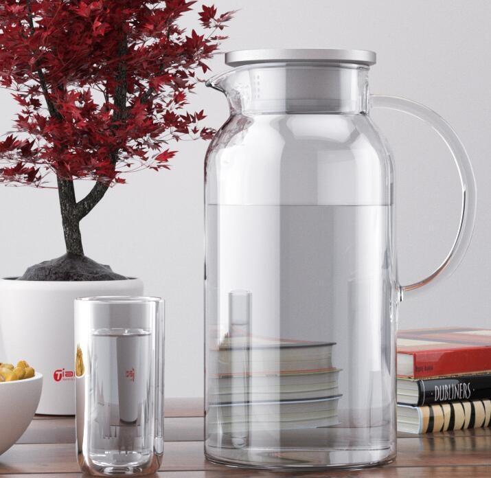 茶壺 天喜冷水壺玻璃耐熱高溫家用涼白開水杯茶壺扎壺大容量涼水壺【免運】