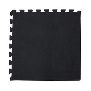石紋巧拼地墊53x53x1.5cm4入-黑