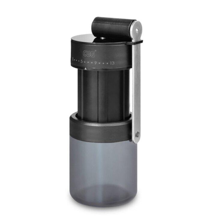 CUG 外調式鋼刀磨豆機 附保護殼 手搖 輕巧 迷你磨豆機 專利軸承 好攜帶 易洗潔