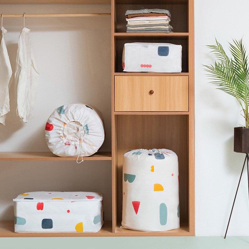 &&新店特惠,低價衝量&& 創意家用棉被收納袋 防潮袋子 被子裝衣服的整理袋 搬家打包袋