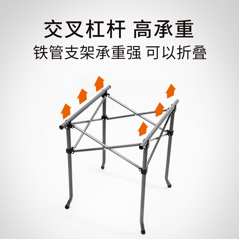 新款民族風折疊桌椅套裝組合戶外野餐桌五件套野外露營茶幾便攜