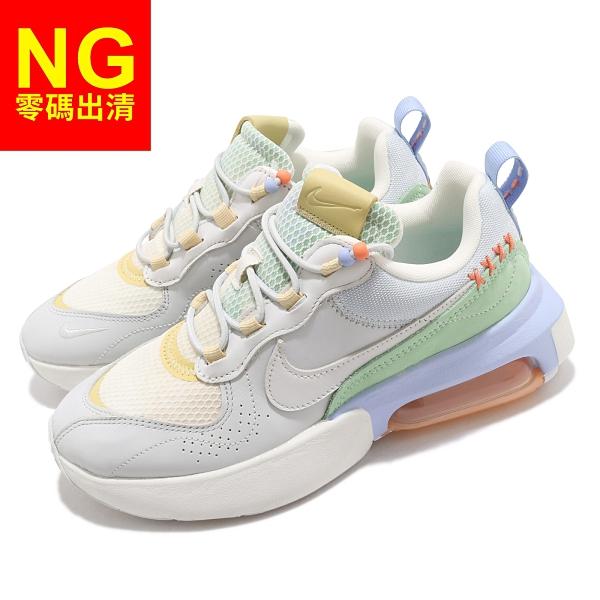 【US6.5-NG出清】Nike 休閒鞋 Wmns Air Max Verona 灰 米白 粉綠 女鞋 運動鞋 右鞋帶無吊飾【ACS】