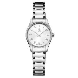 【瑞士 CK手錶 Calvin Klein】中性錶 不銹鋼錶帶 強化礦石玻璃 防水30米(K4D2314Z)