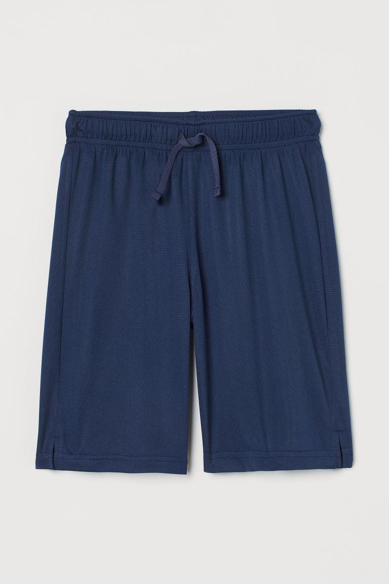 H & M - 運動短褲 - 藍色