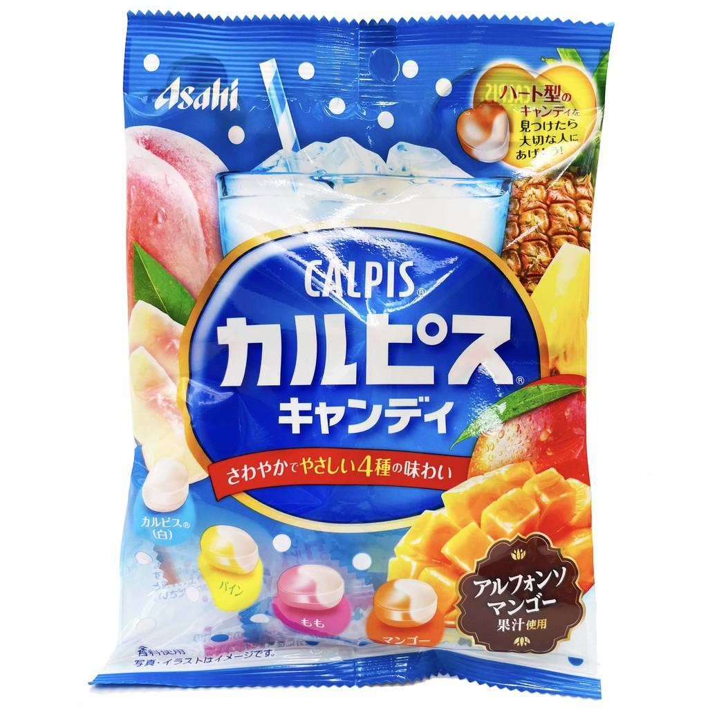 日本 朝日 可爾必思 4味水果糖 96g 水果糖 糖果