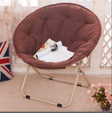 懶人椅 大號月亮椅太陽椅懶人椅午休躺椅折疊椅靠背休閒椅陽台沙發椅【免運】