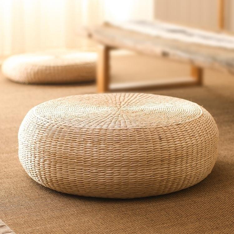 新品上市 禪修坐墊 日式榻榻米蒲團坐墊打坐墊禪修墊拜佛墊跪墊拜墊家用地上墊子草編