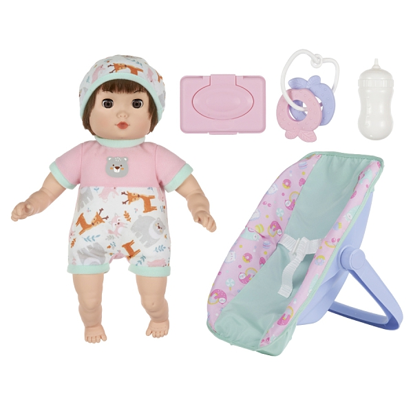 Baby Blush 親親寶貝 13吋娃娃搖椅配件組 玩具反斗城