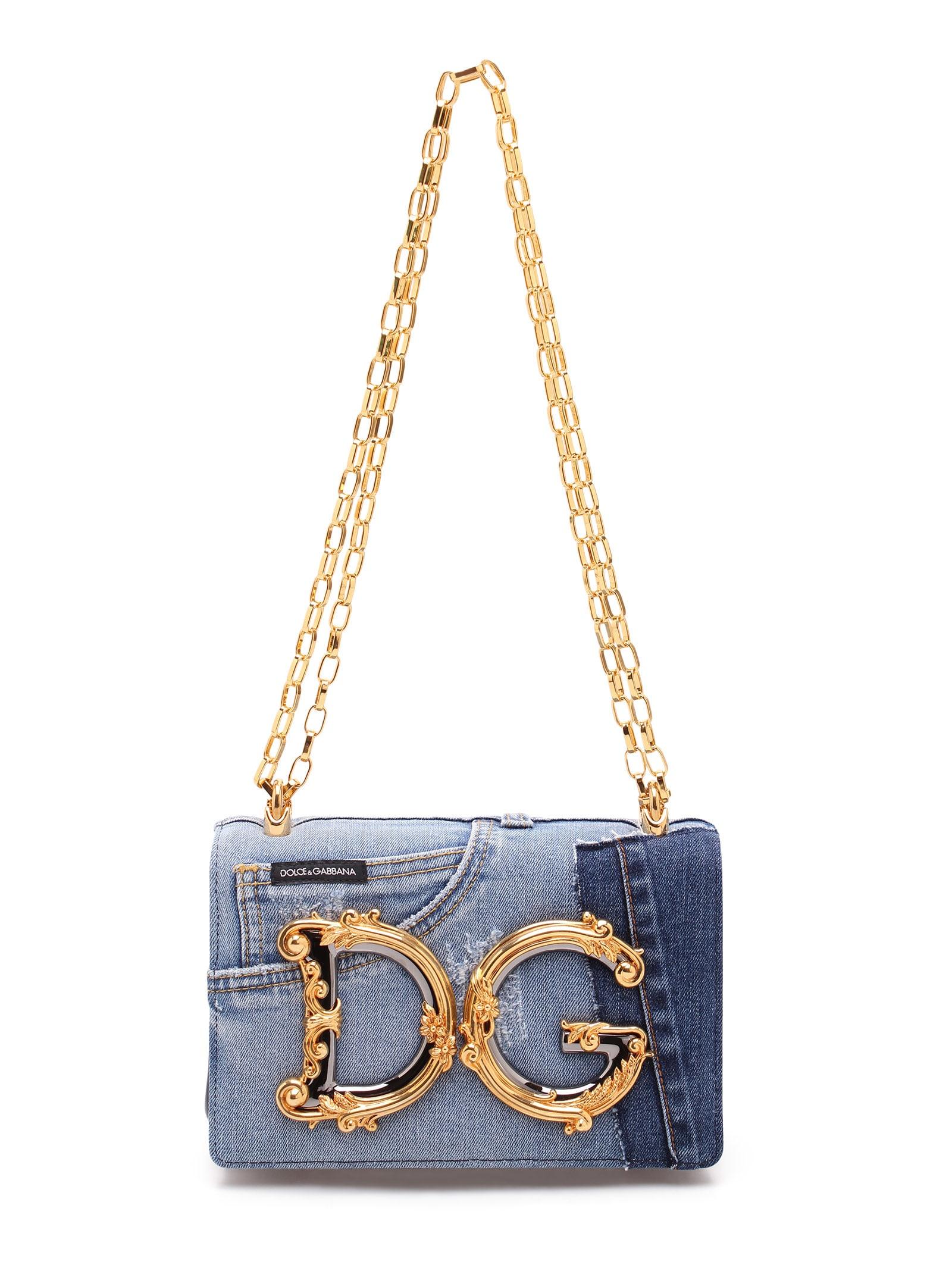 Dolce & Gabbana dg Girls Cotton Shoulder Bag