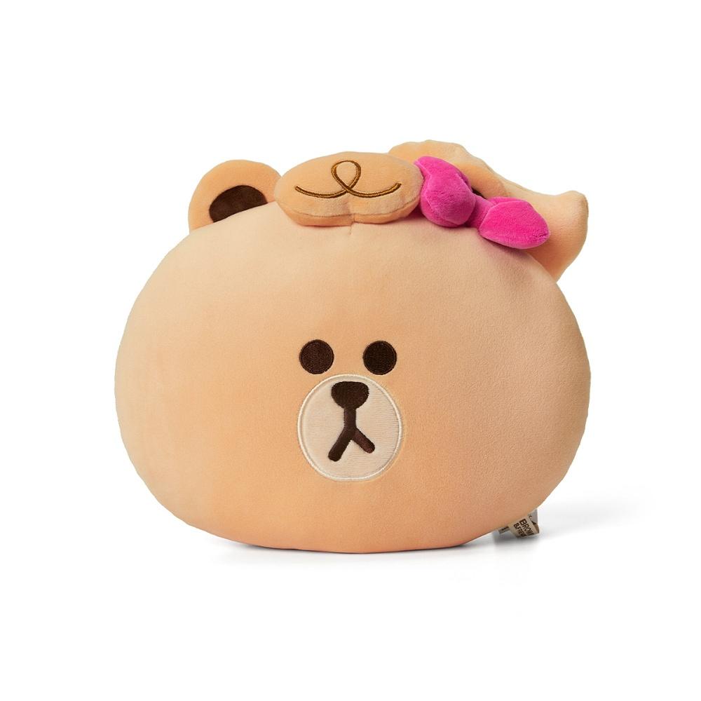 熊美 臉型抱枕(MINI系列)