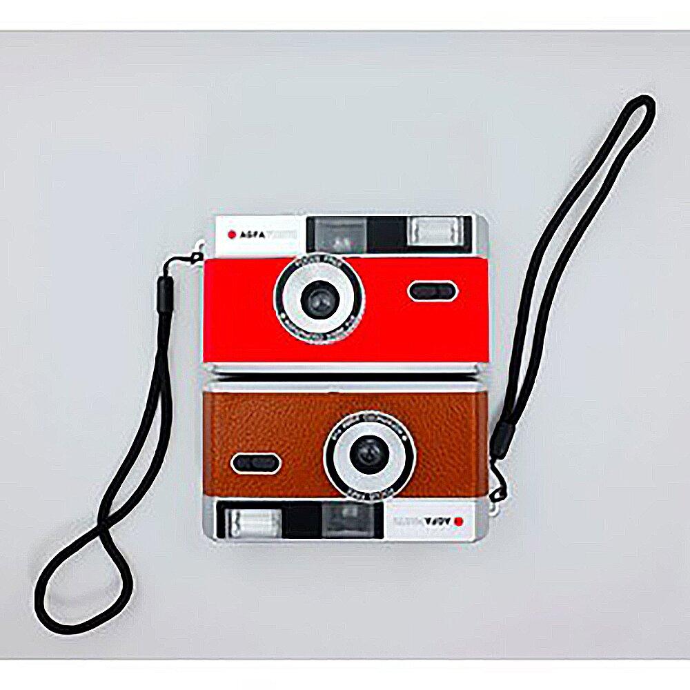 AGFA Photo 愛客發 35mm 菲林相機 底片相機 Film Camera 有 棕色 紅色 可選