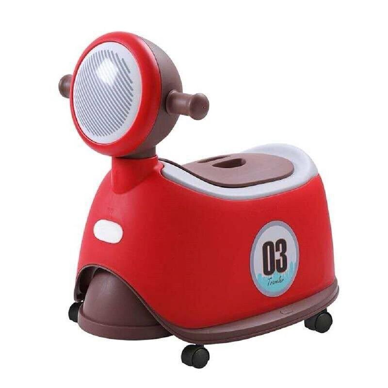 Jolly 時尚機車座便器馬桶-紅色★愛兒麗婦幼用品★