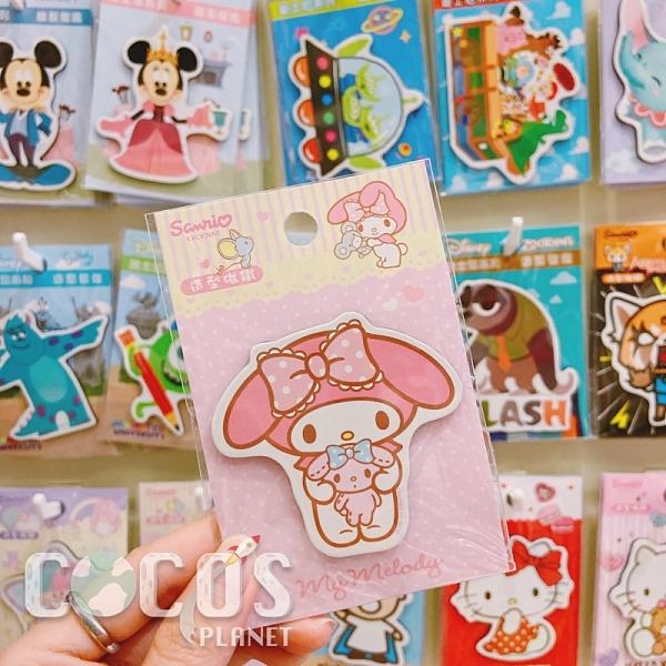 正版 三麗鷗系列 Melody 美樂蒂 造型磁鐵 冰箱貼磁鐵 三麗鷗磁鐵 COCOS TT001