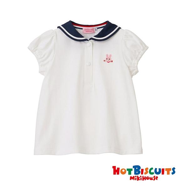 HOT BISCUITS 卡比兔海軍領短袖T恤