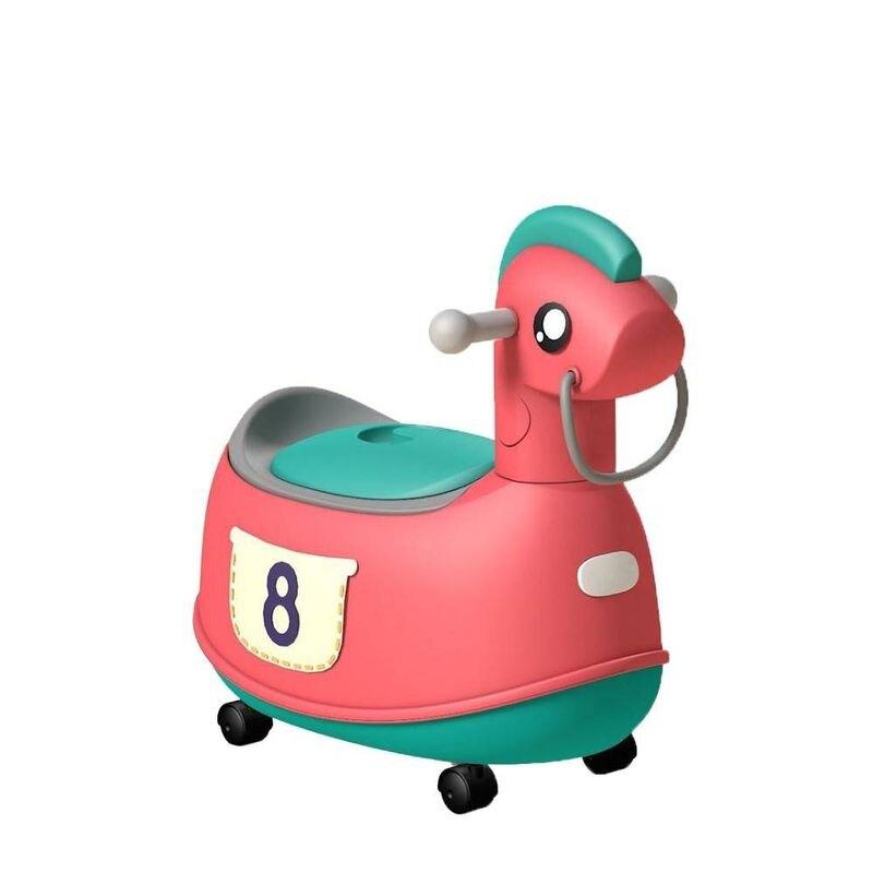 Jolly 時尚復古小馬座便器馬桶-紅色★衛立兒生活館★