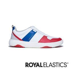 ROYAL ELASTICS Rider 紅藍白真皮時尚運動休閒鞋 (男) 06794-015
