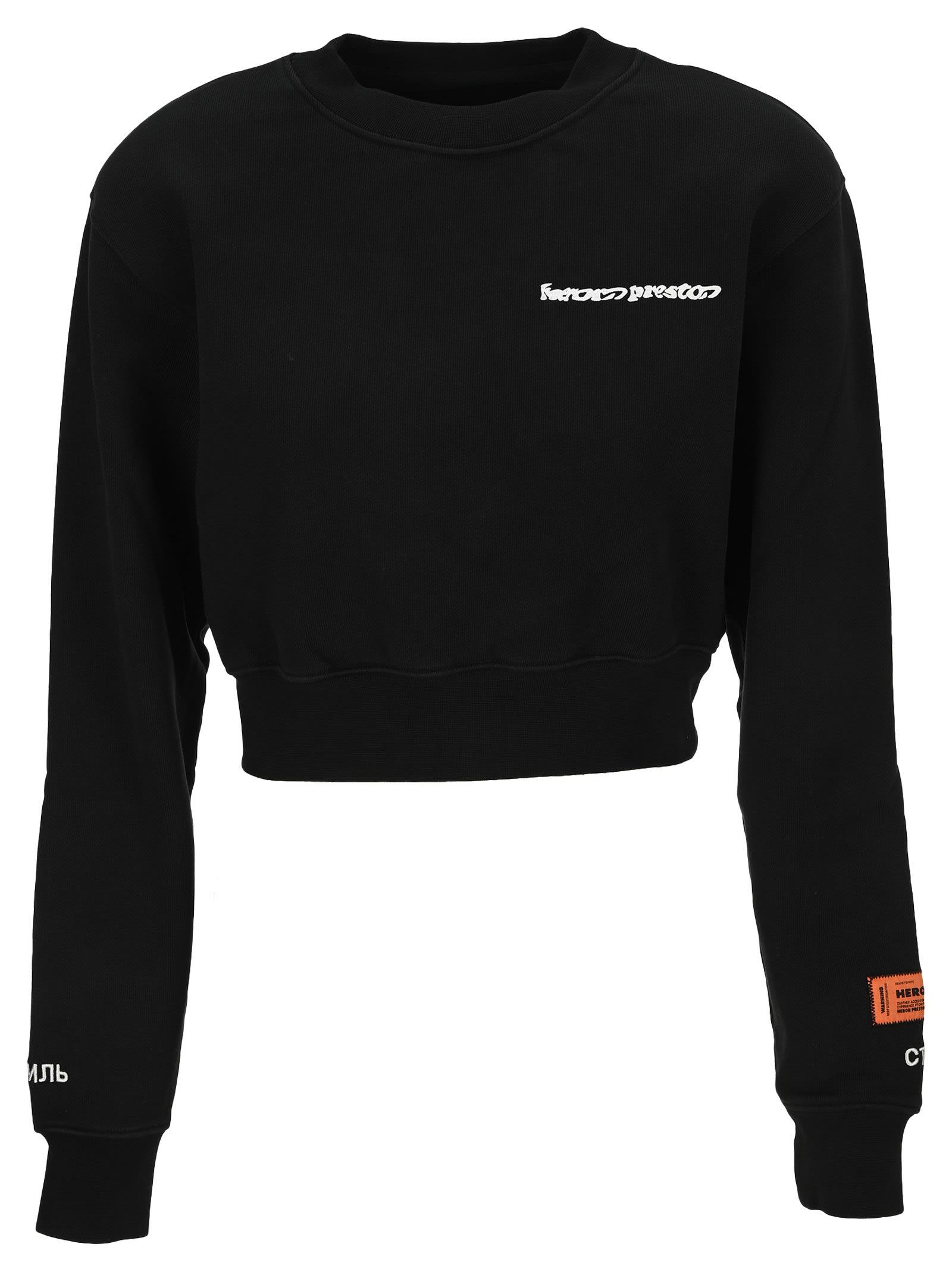 Heron Preston Warped Logo Sweatshirt
