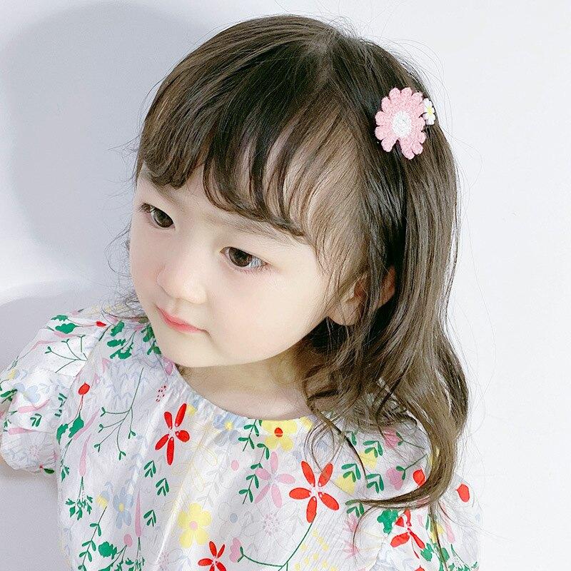 兒童發梳碎發夾子防滑整理發飾韓小女孩可愛插梳劉海夾女童發卡