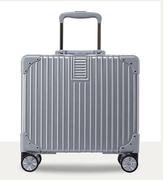 迷你行李箱輕便小型登機拉桿箱女20密碼旅行箱子男18寸韓版小清新 初色家居館