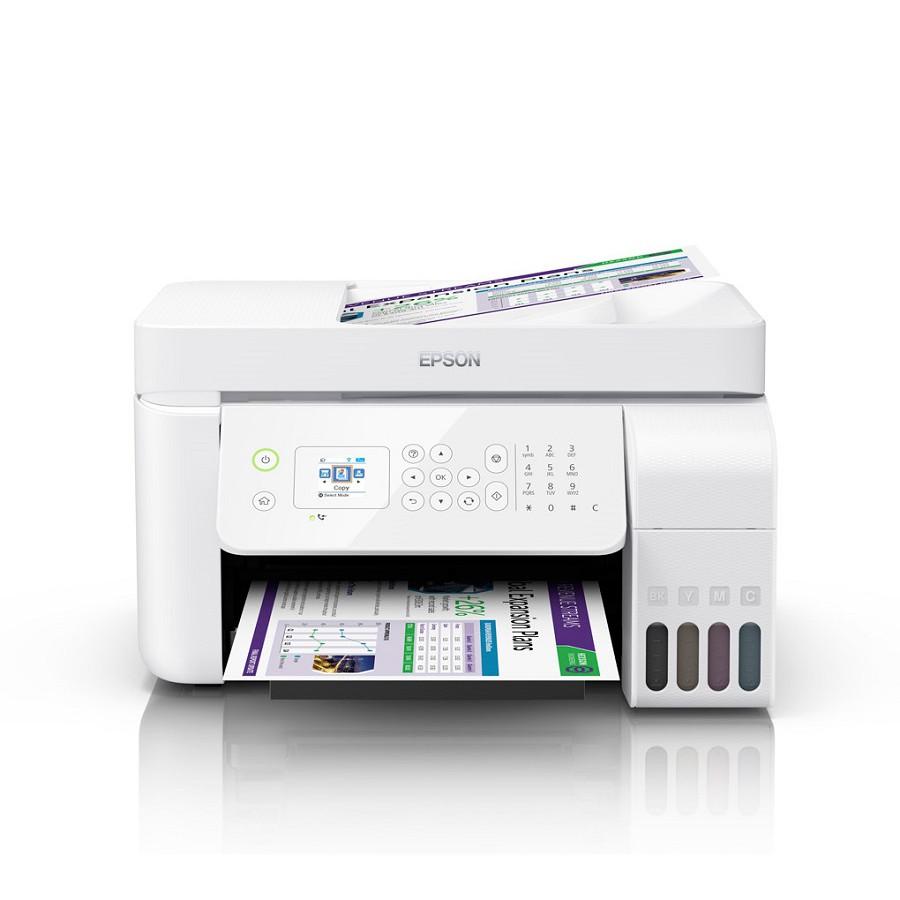 EPSON L5196 雙網四合一連續供墨複合機【列印/影印/掃描/傳真/WIFI】