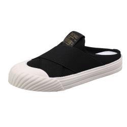 【Taroko】專屬夏日透氣厚底穆勒鞋(2色可選)