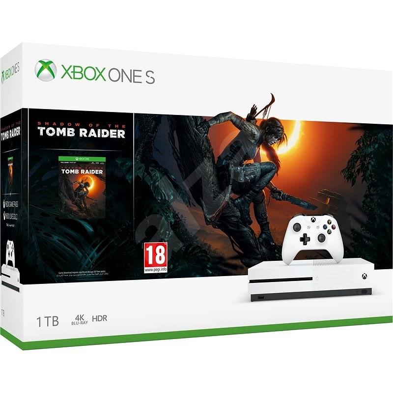 XBOX ONE X《古墓奇兵:暗影》1TB 同捆組 白色保固半年