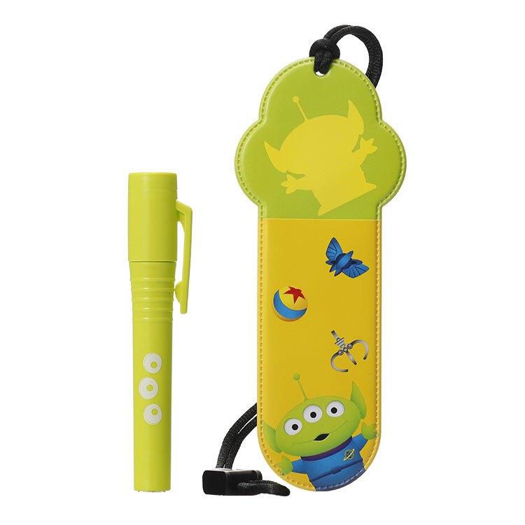 【加護靈 滿699送380元環保洗衣膠囊一包】日本 Cleverin 加護靈 玩具總動員 三眼怪筆型 (綠色)