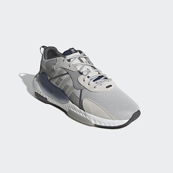 【12周年慶跨店折後$3280】Adidas Hi-Tail 灰藍色 山系 復古 潮流 時尚 休閒 老爹鞋 H05766