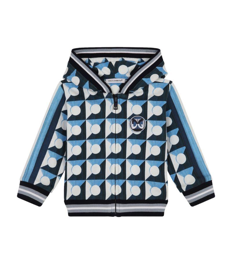Dolce & Gabbana Kids Geometric Hoodie (3-30 Months)