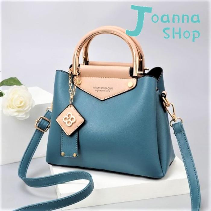 韓版百搭簡約小資新寵手提斜背包1-Joanna Shop