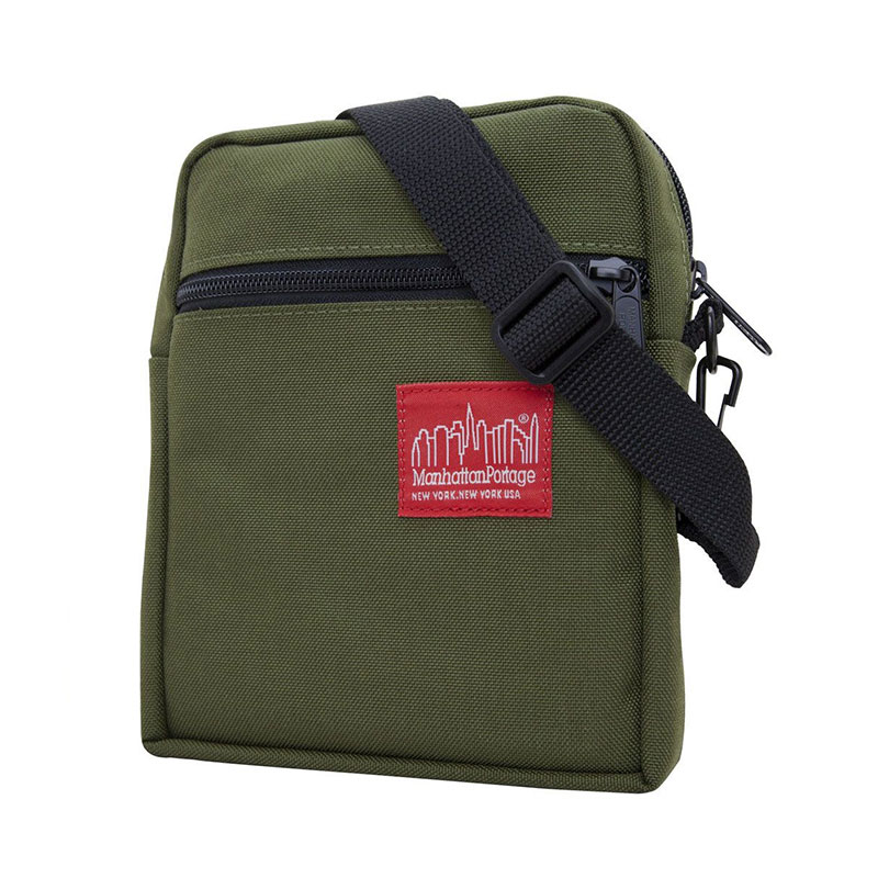 【ManhattanPortage 曼哈頓】MP1403-OLV 城市微光 肩背包 / 側背包 (橄欖綠)