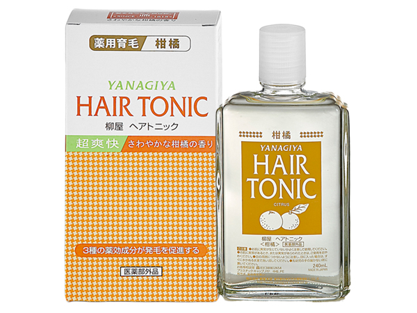 Yanagiya 日本柳屋~髮根營養液(柑橘香)240ml【D113518】護髮素