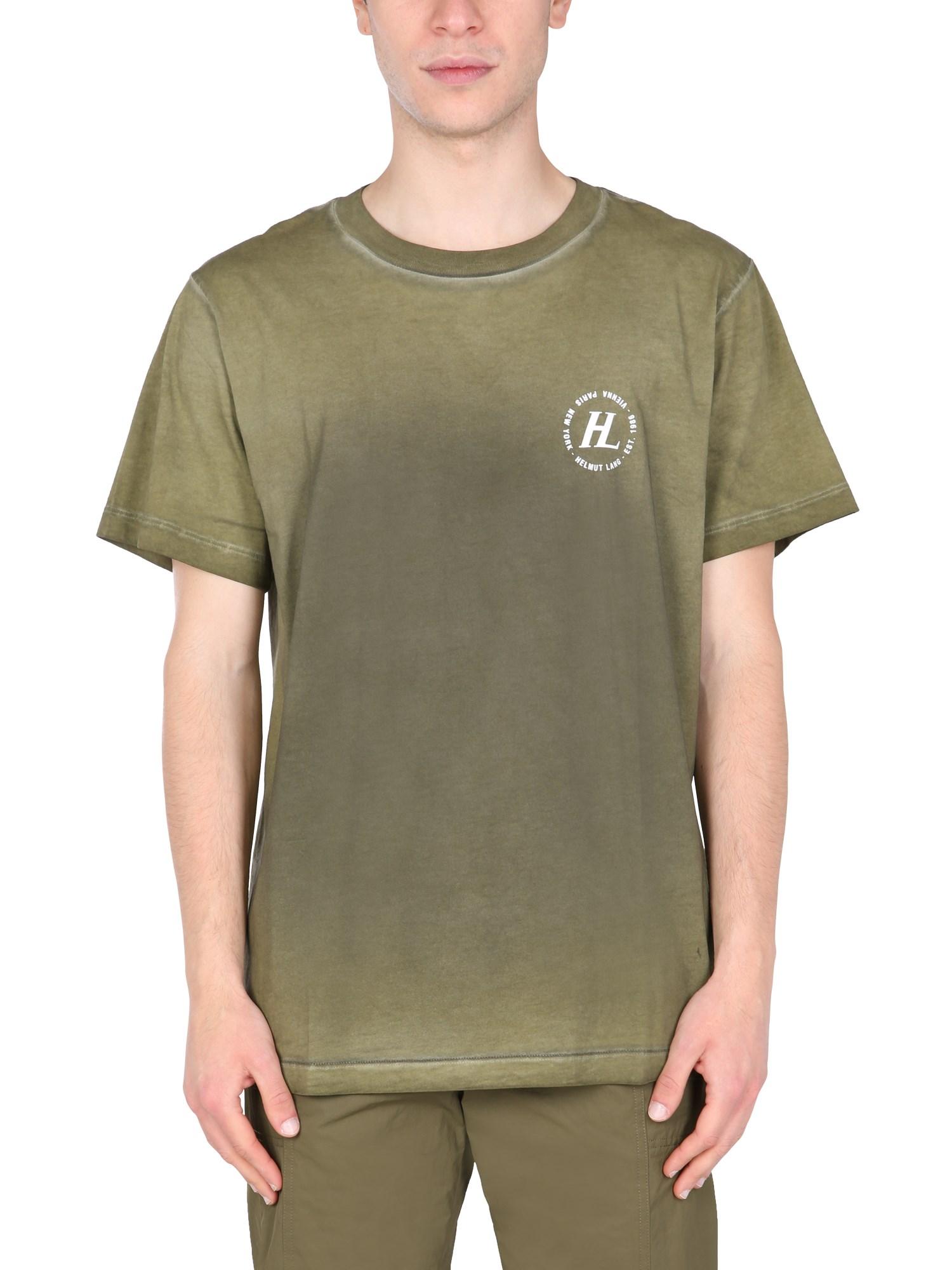 helmut lang t-shirt girocollo