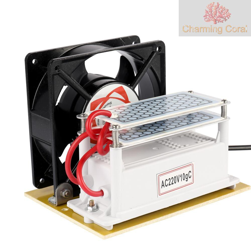 10g臭氧發生器臭氧消毒機新房除甲醛異味空氣淨化110V美規