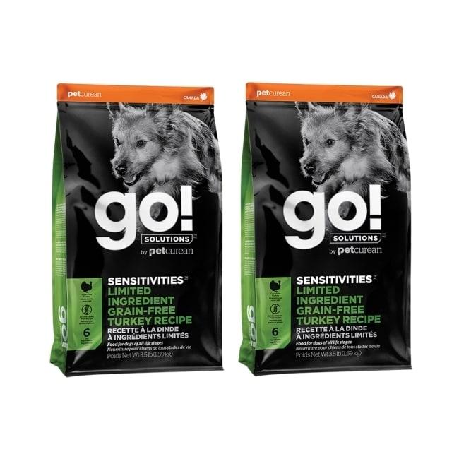go! 低致敏無穀系列 火雞 全犬配方 12磅 (6磅 兩件優惠組)