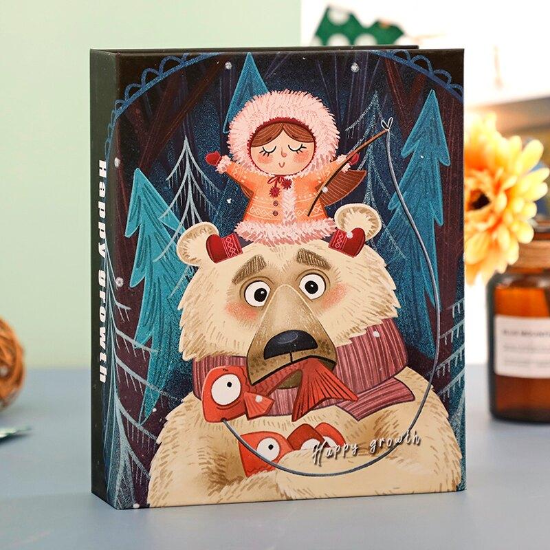 相冊 5寸6寸7寸小相冊本紀念冊插頁式家庭影集照片大容量裝簡約收納冊 【CM5859】