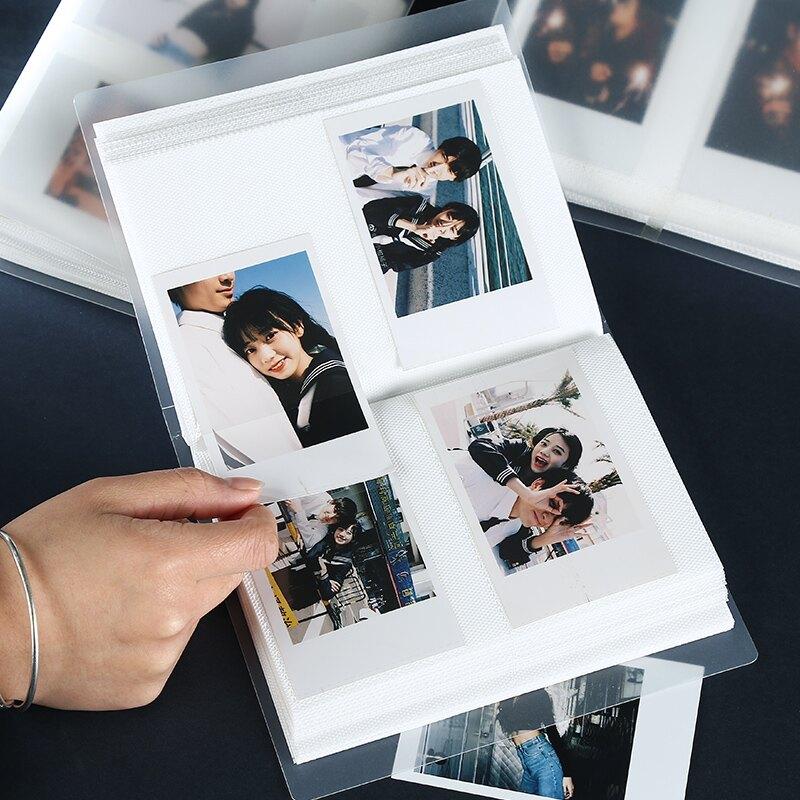 相冊 拍立得3寸4寸裝照片相冊迷你收納本三寸四寸小相冊本插頁式紀念冊 【CM5850】