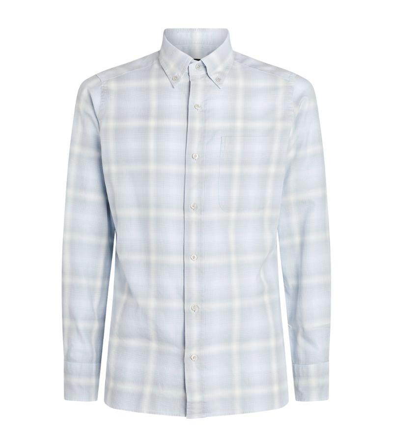 Tom Ford Cotton Check Shirt
