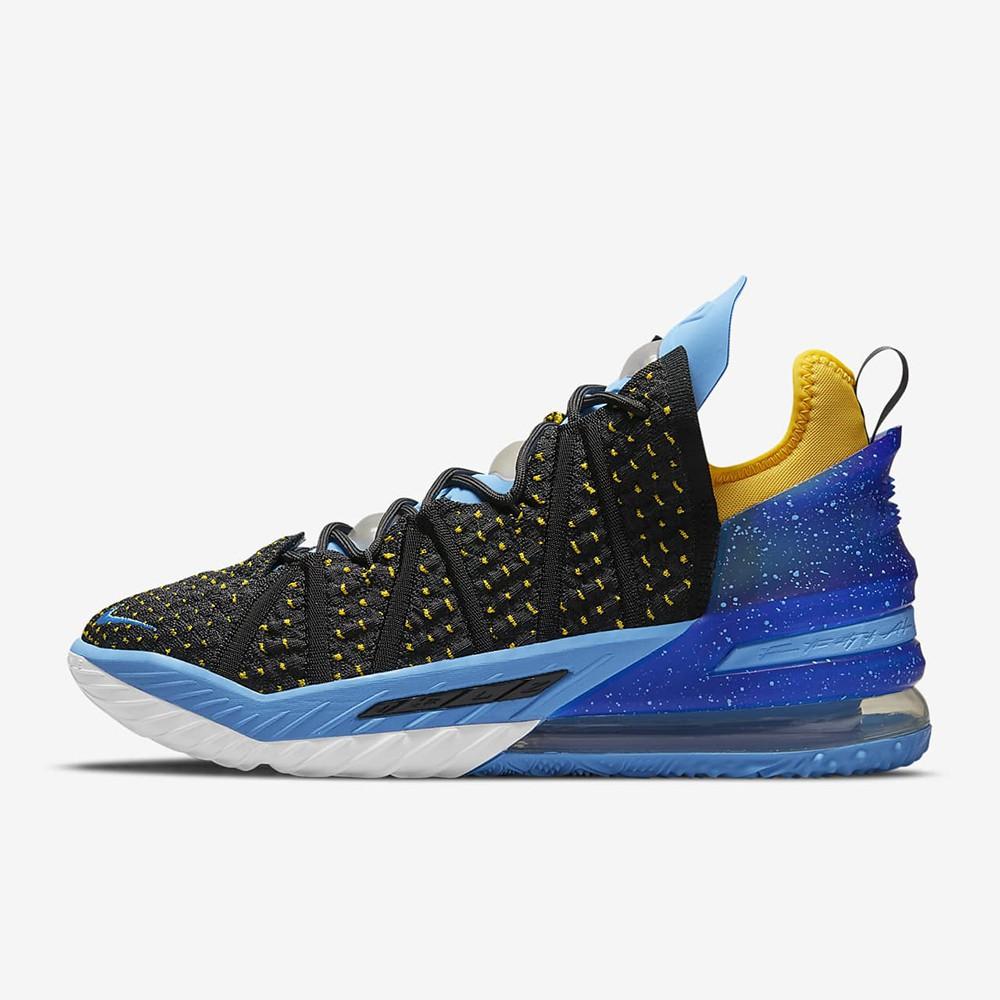 NIKE LEBRON XVIII EP 男籃球鞋 CQ9284006 藍黑