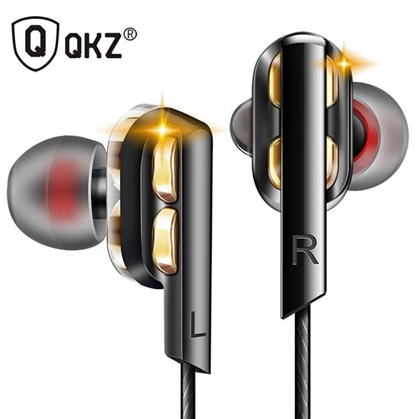 QKZ 霆聲 AK4 雙動圈耳機 線控耳機 運動耳機 耳機 4單元 重低音