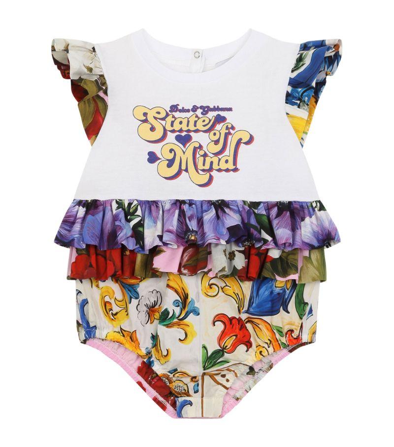 Dolce & Gabbana Kids State Of Mind Bodysuit (0-24 Months)