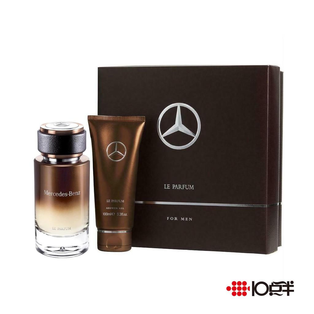 Mercedes-Benz 賓士 入木之水 男性淡香精 120ml 禮盒 ( 兩件組 )〔 10點半香水美妝 〕