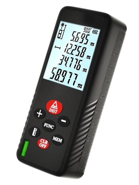 激光測距儀手持紅外線測量尺高精度量房儀器距離測量儀工程電子尺 618促銷