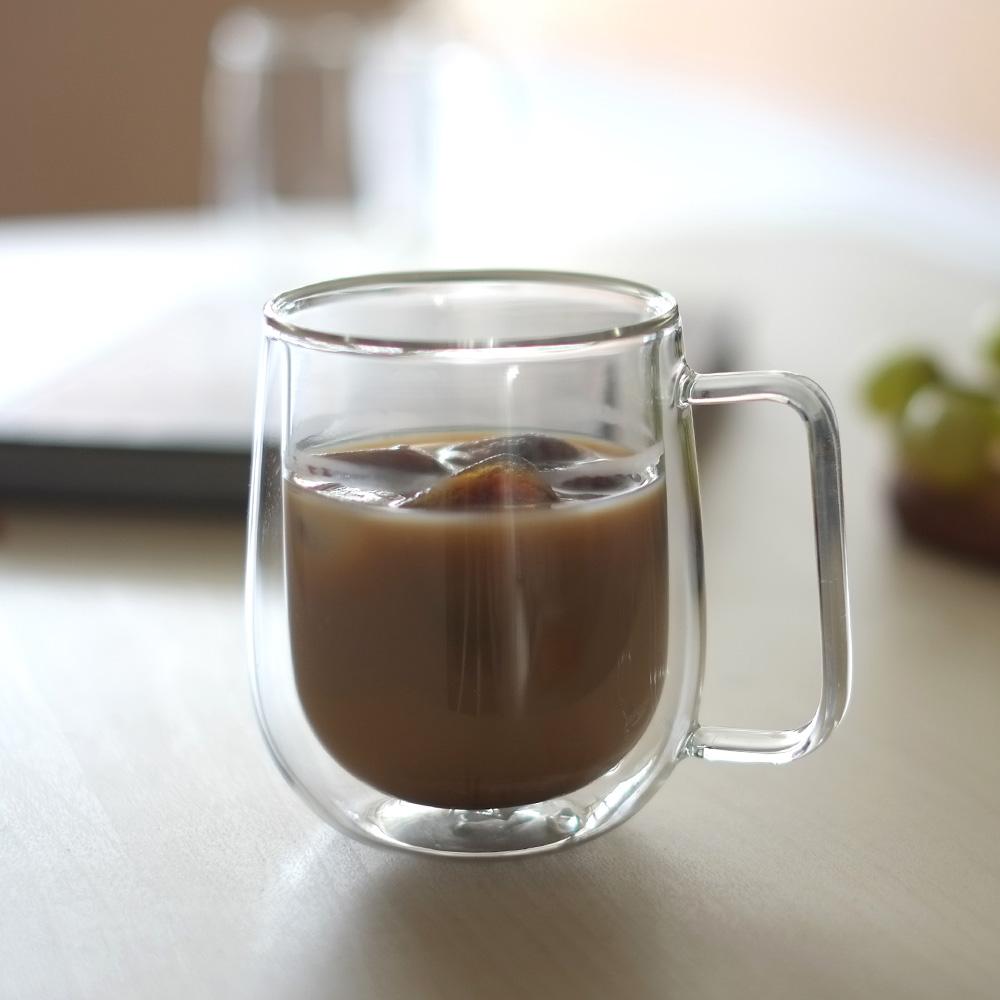LINKIFE 玻璃系列 雙層玻璃咖啡杯