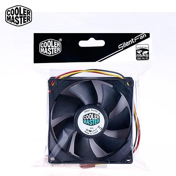【Cooler Master 酷碼】Silent Fan 雙滾珠 軸承 8公分 風扇