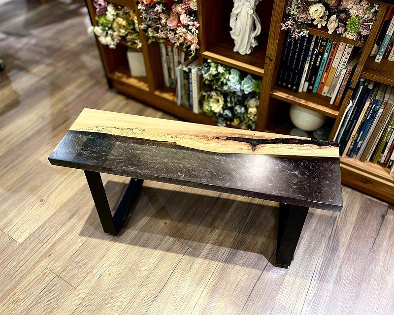 河流樹脂藝術課程-河流板凳 / 週二到週日皆可預約