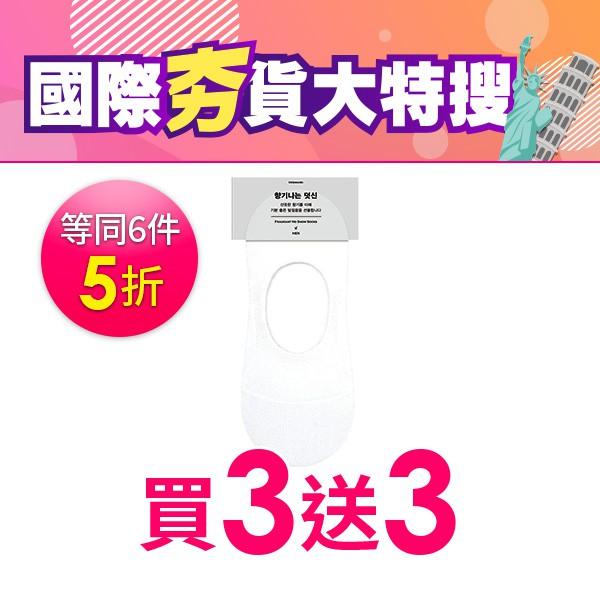 韓國 KIKIYA男襪香氣帆船襪-白